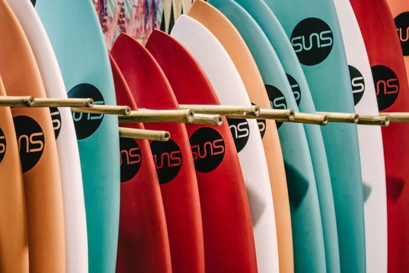SUNS surfboards - sunova tech construction in stringerless epoxy / E.P.S.