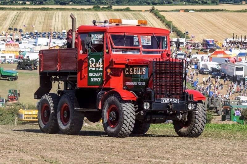 Ride in a 6 x 6 Scammell Explorer Lorry