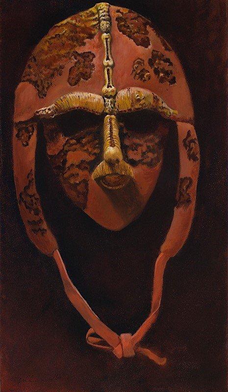 Micro abstraction mask No 2
