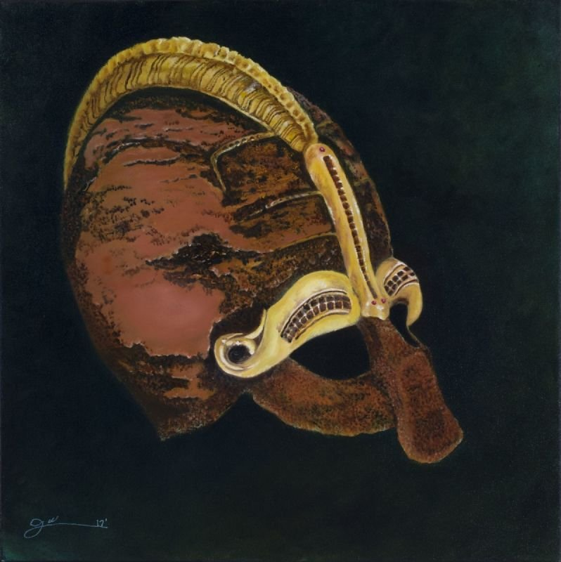 Micro abstraction mask No 4