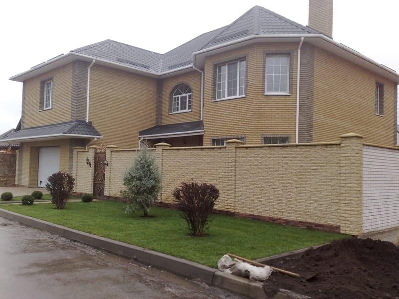 строительство домов, фундамент