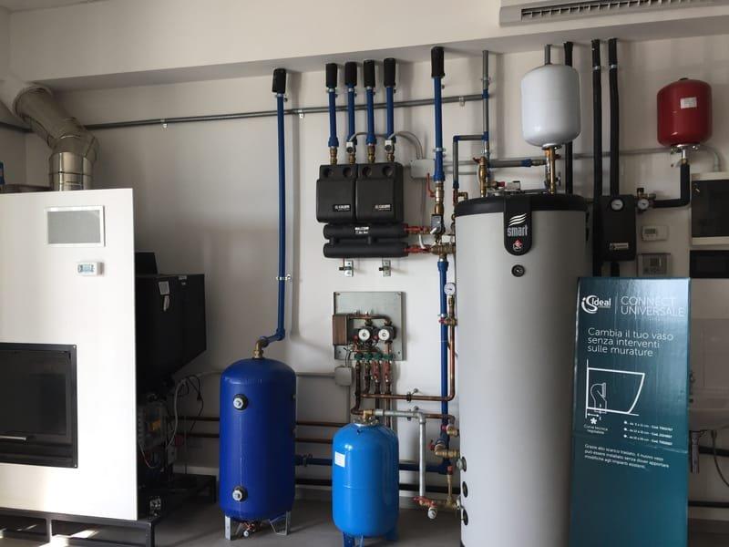 Электричество, отопление и водопровод
