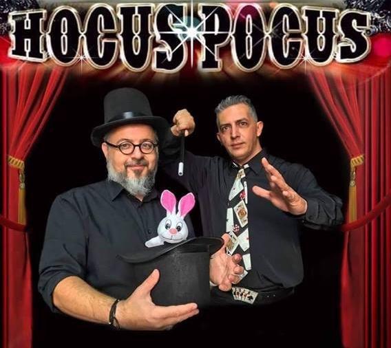 Παράσταση Μαγείας Hocus Pocus 2019