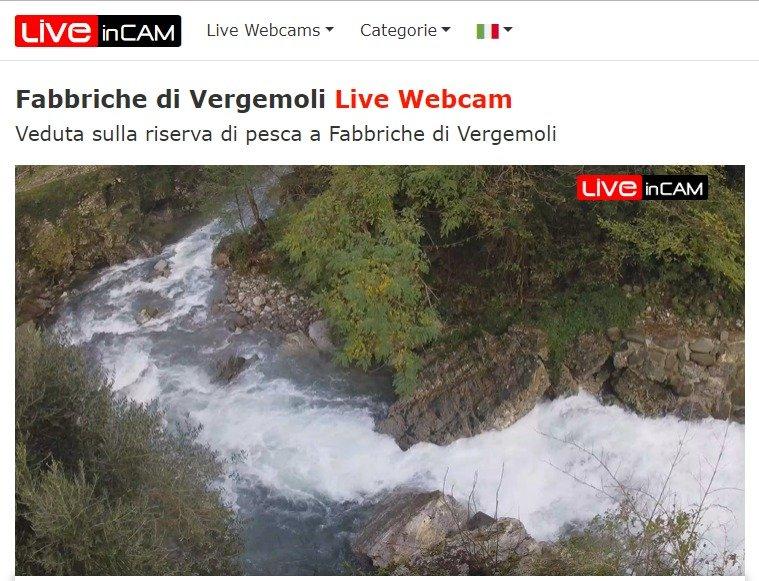 Veja ao Vivo Fabbriche di Vergemoli