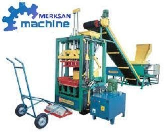 Machine de brique, fabrication de blocs beton