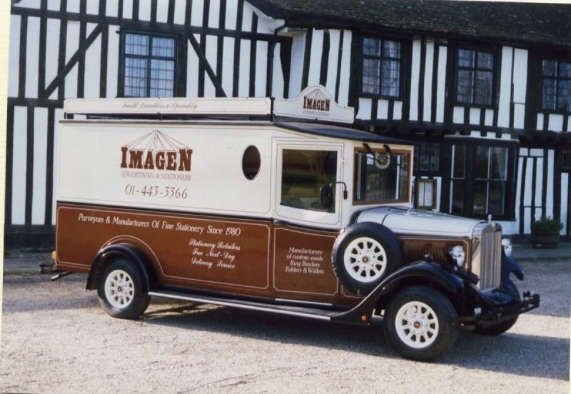 Asquith Shire - 'Imagen' Van - stationary company