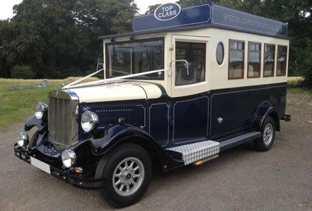 Asquith Mascot - Wedding Bus