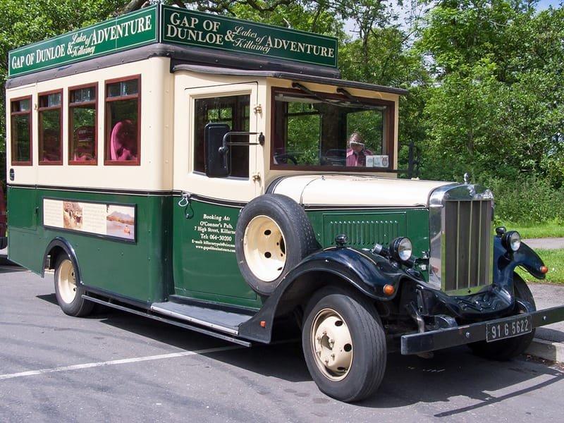 Gap of Dunloe Tourist Bus - Ireland