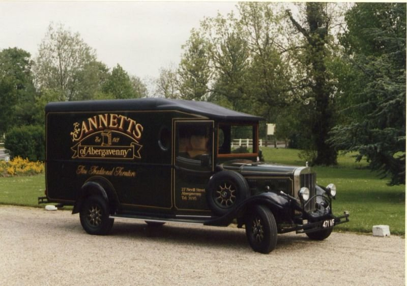 Shire built for Annetts, Abergavenny, Wales