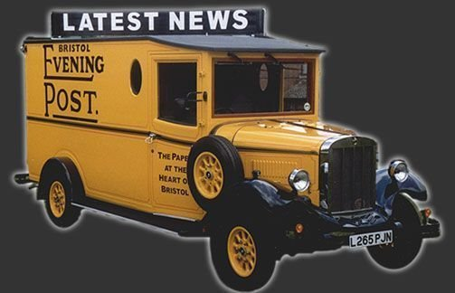Asquith - Newspaper Delivery Van