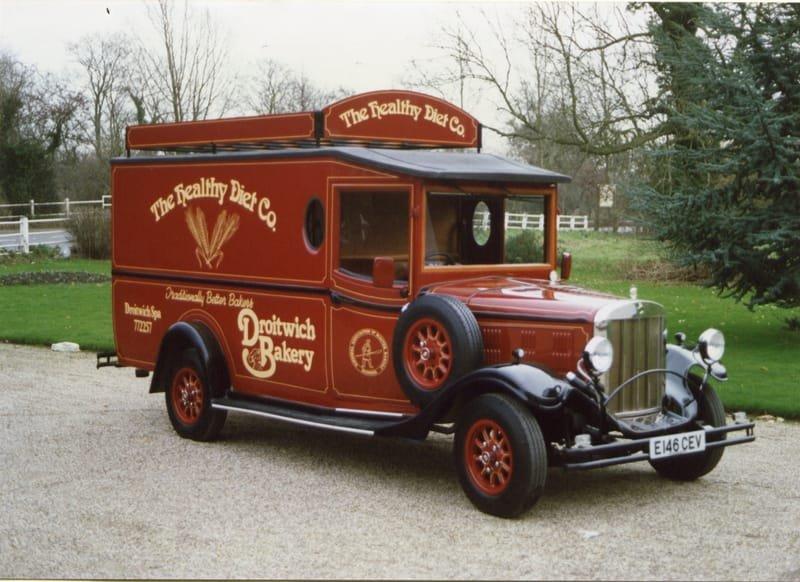 Asquith Van for Bakery (UK)