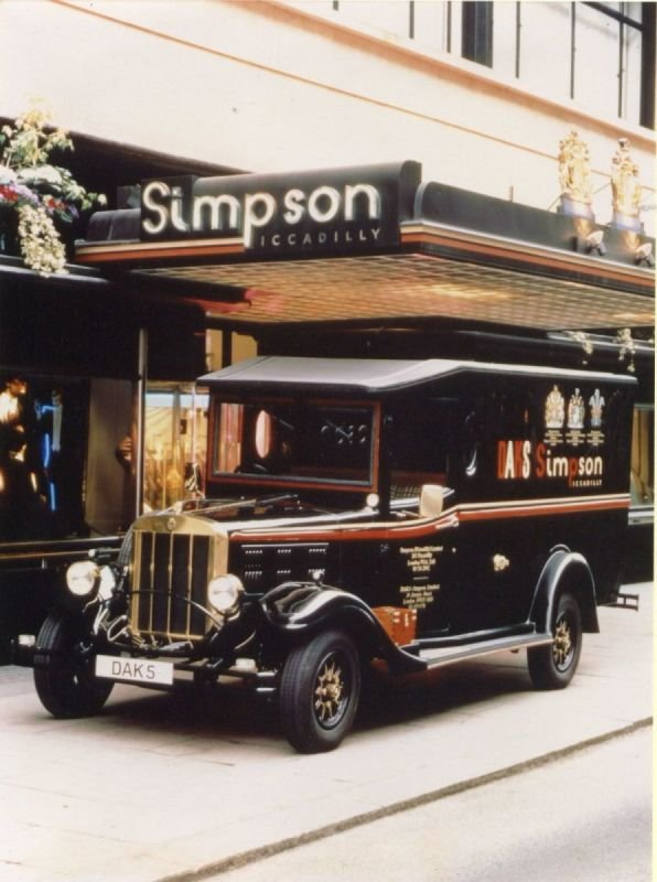 Simpson's of Piccadilly Asquith