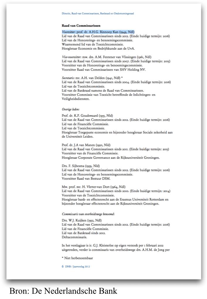 [10] RvC leden van de DNB tijdens de Eurocrisis 2011