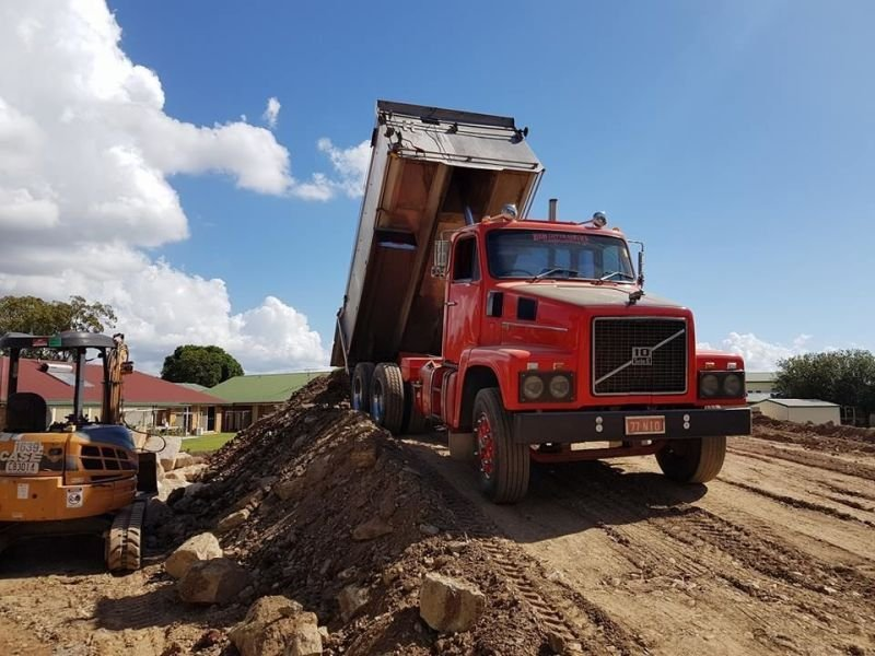 Tipper Truck and Driver Hire