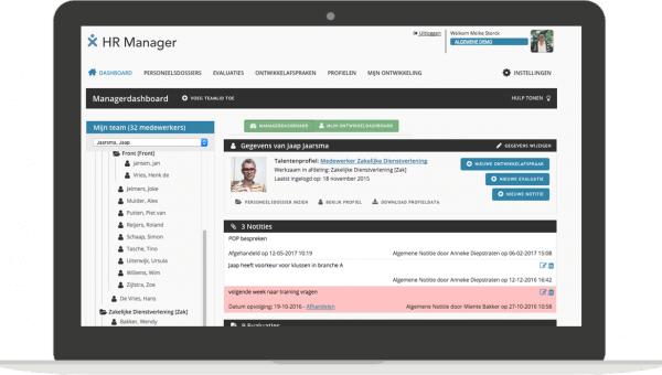 Managersdashboard