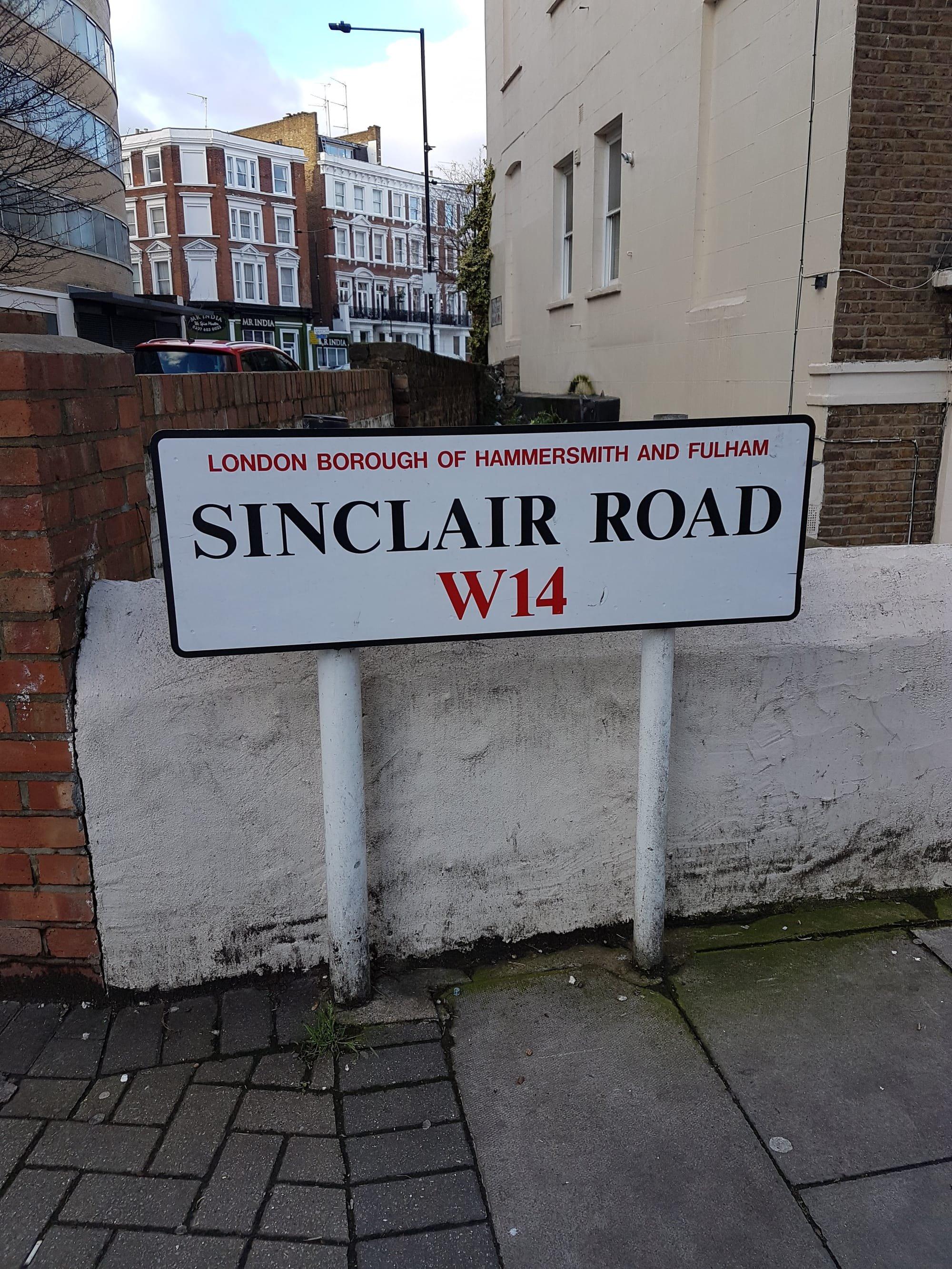 sinclair road