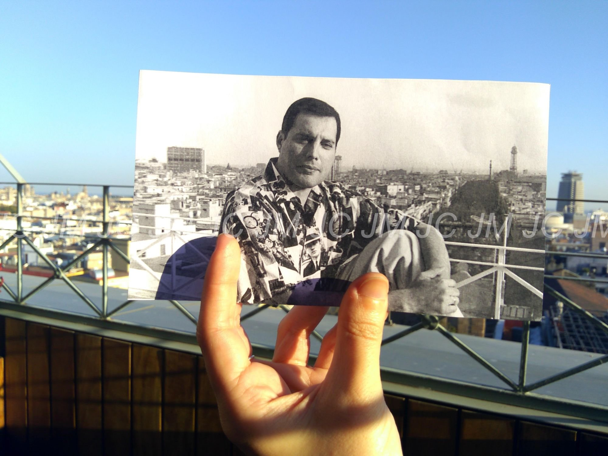 Freddie Mercury in Barcelona