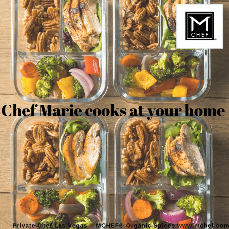 Weekly Menu Preparation by Chef Marie - Private Chef Services