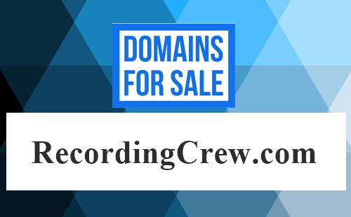 RecordingCrew .com