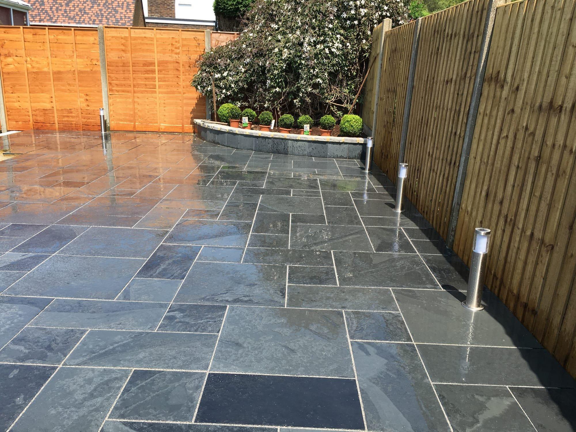 Slate Patio Sussex Property Maintenance South Ltd