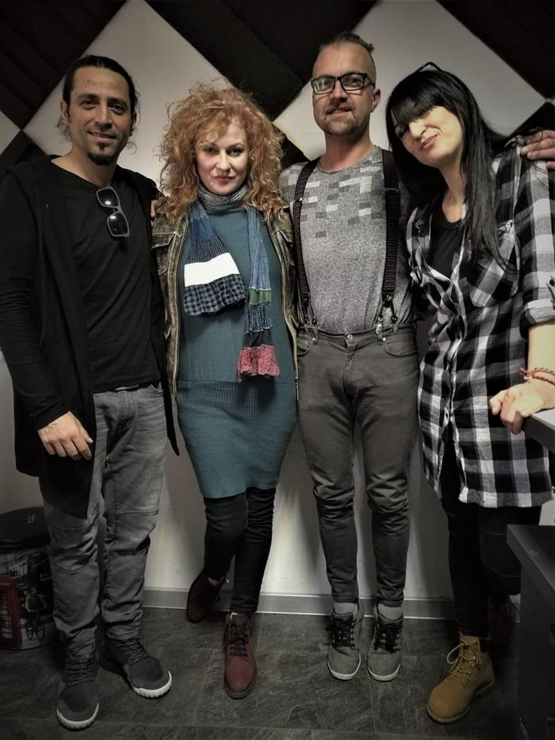 Vladimir Mihaylov, Gergana Dimitrova, Eva Perchemlieva and Aleks