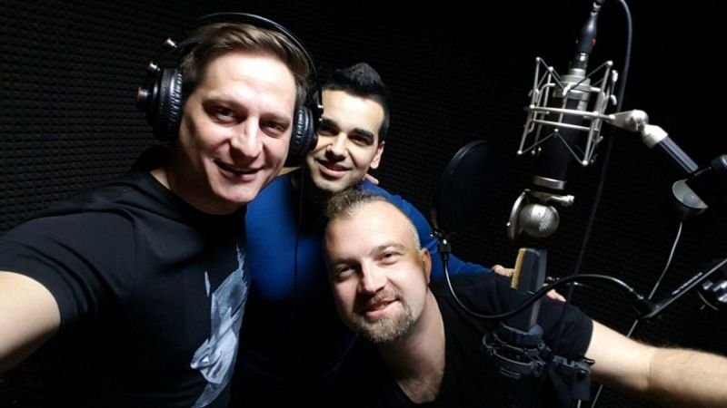 Vlado Dimov, Aleks and PEtar