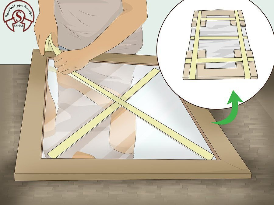 تغليف الزجاج والاثاث اثناء النقل