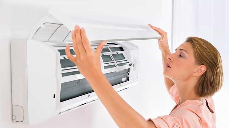 كيفية تنظيف مكيفات الهواء الاسبليت