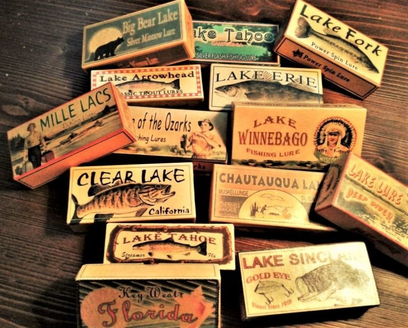 Lakes West of the Mississippi River - Lake-Boxes com
