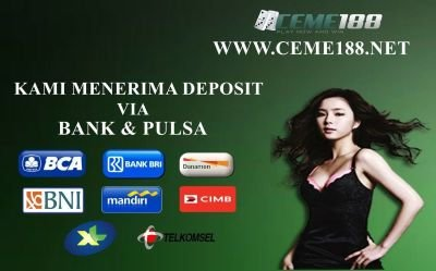DEPOSIT VIA PULSA TELKOMSEL DAN XL