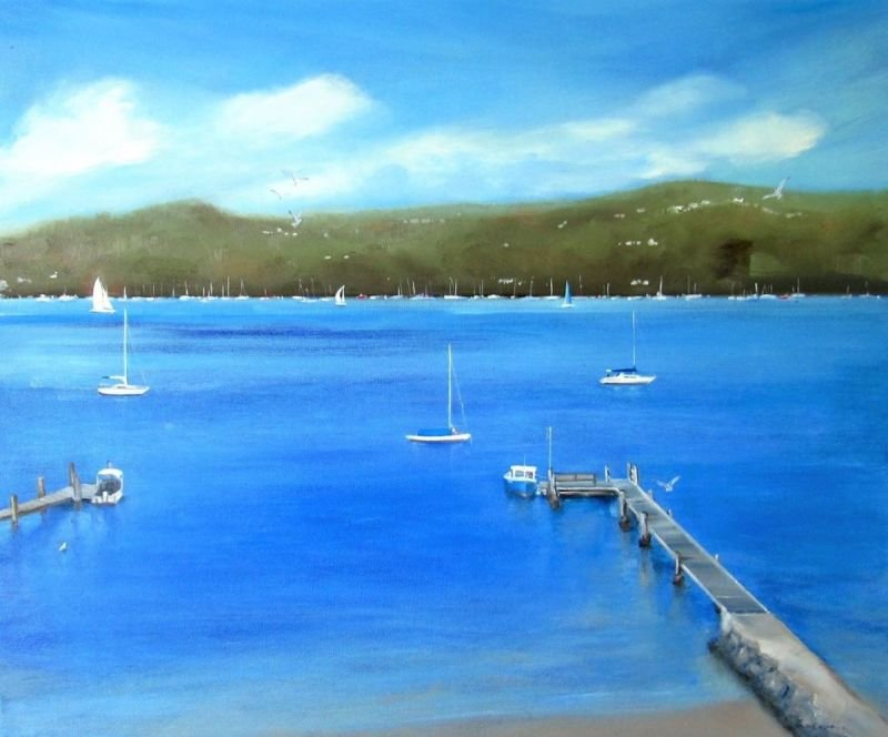 Pittwater Scene, NSW