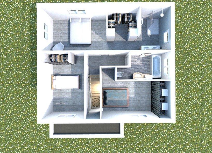Baya 100 m² 3 chambres + GA - Cosy\'hom