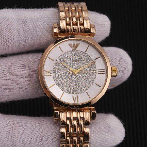 שעוני ארמאני דגם אבנים מושלם