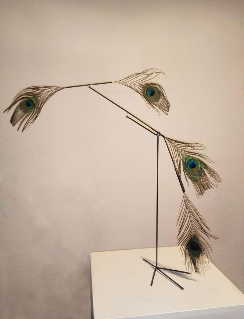 Schräger Vogel