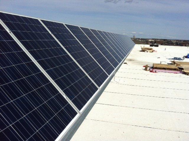Lloydminister Collge Park Solar PV Installation