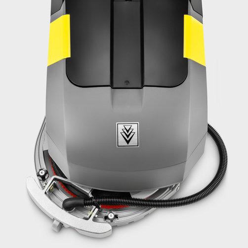Autolaveuse BD 30/4 C Bp Pack: Suceur d'aspiration oscillant courbe