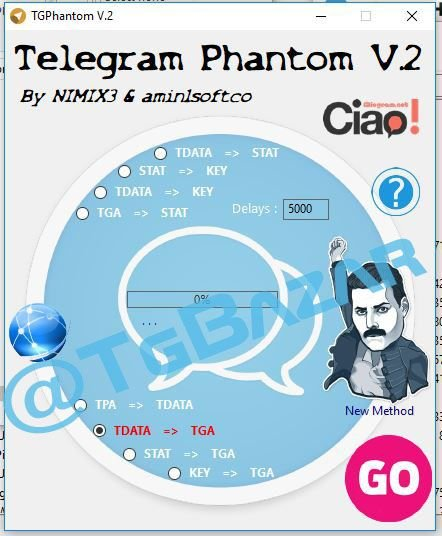 telegram account