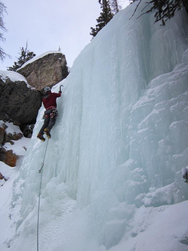 Moffat Tunnel Ice