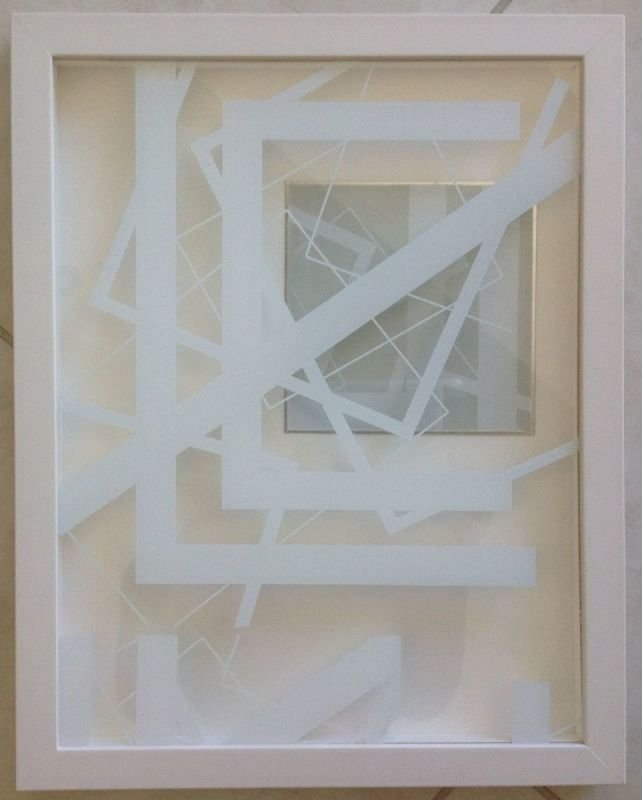 White space Vlll FRAMED