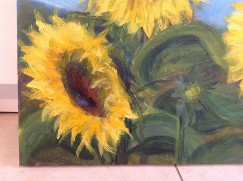 Sunflowers 11 (close up)