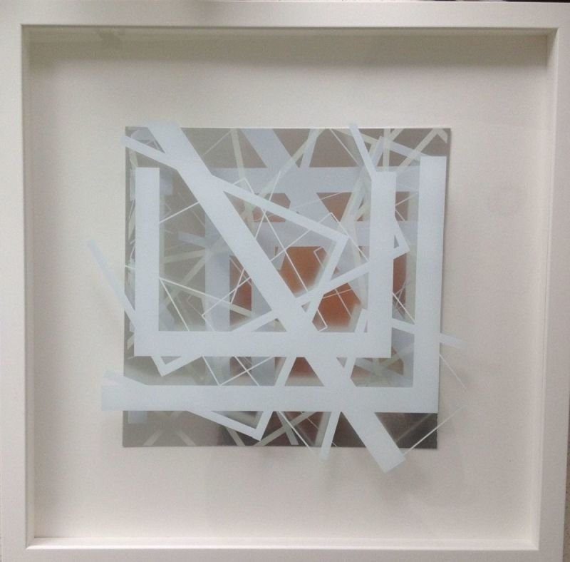 White Space 1V FRAMED