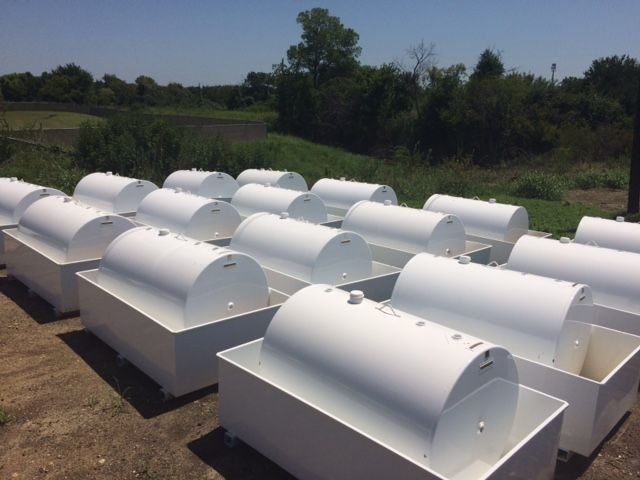 1000 Gal Fuel Storage Tank - Double Wall