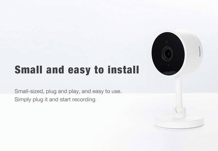 Smart life Tuya wifi camera CMOS wireless camera with sd card 1080P remote control baby monitor camera