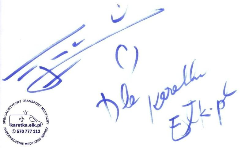 Autograf - Ewa Farna