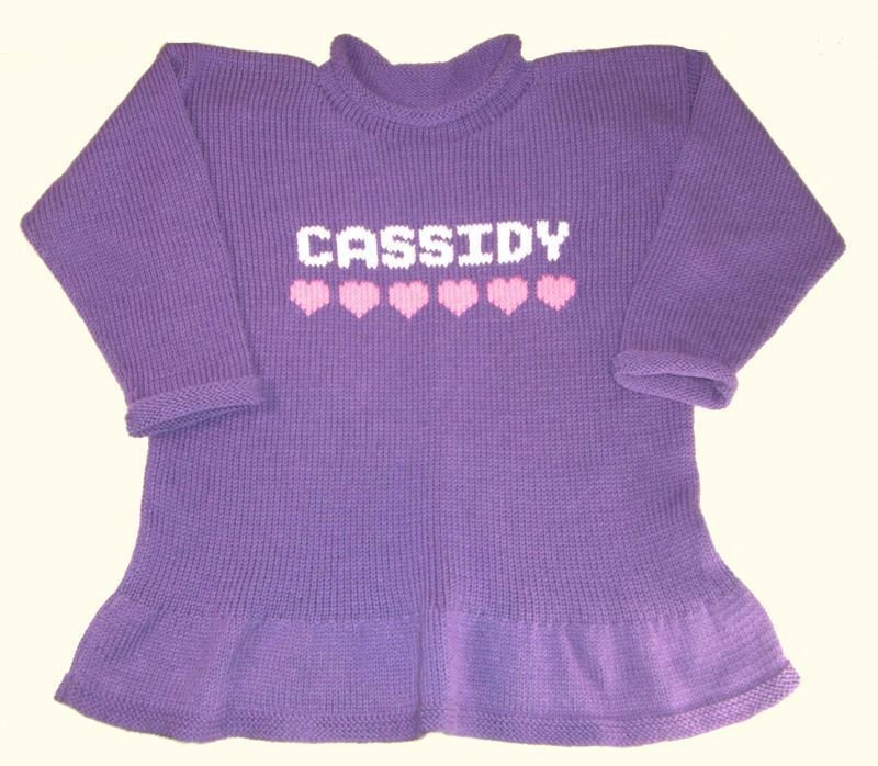 Personalized-ruffled-tunic-sweater-for-little-girls