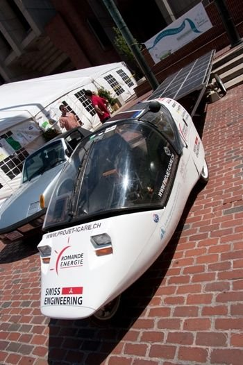 BGF 2010 1st Solar Wind Powered Vehicle - Swiss