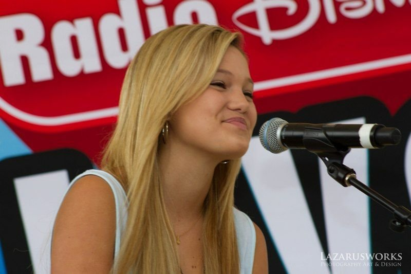 BGF 2012 Olivia Holt Disney Star