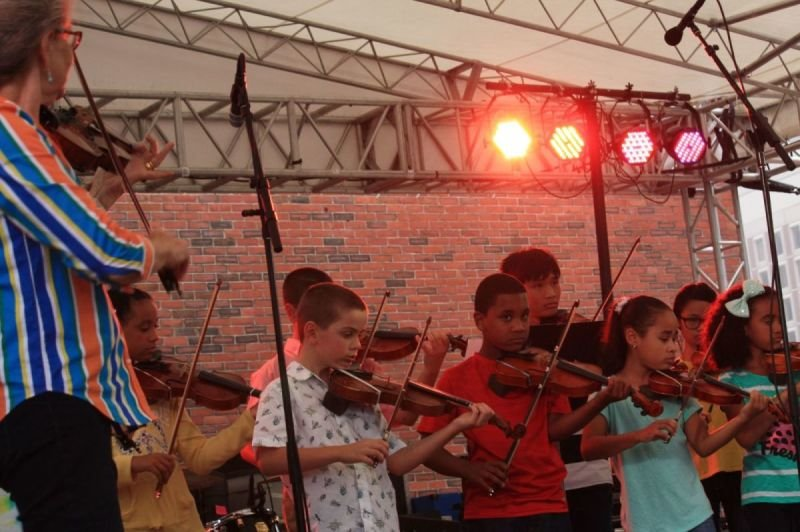 BGF 2015 Young Violinists from Lawrence, MA
