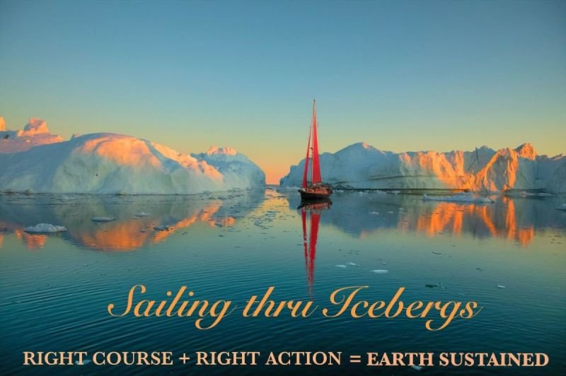 Sailing thru Icebergs