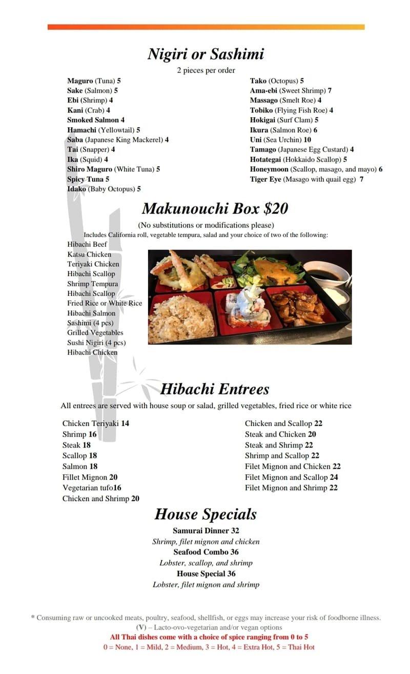 Sushi Roll And Makanochi Box